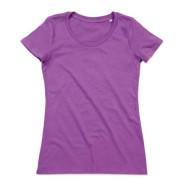 Camiseta-Janet-LAVANDA   camisetasecologicas.es