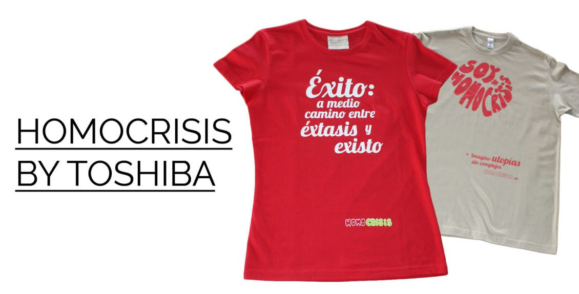HOMOCRISIS-TOSHIBA-CAMISETAS-ECOLOGICAS-PERSONALIZADAS | camisetasecologicas.es