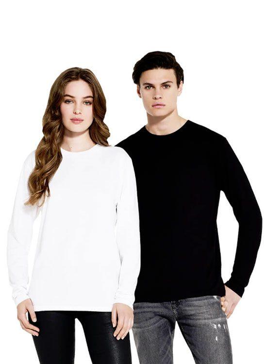 0a472ba7a3c7 Camiseta Manga Larga Unisex algodón orgánico