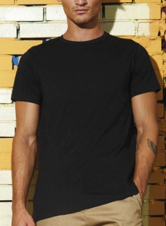 e5fa35ba6eac Camiseta hombre algodón orgánico Colors Plus