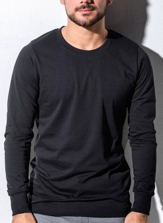e8d419805 Camiseta hombre manga larga algodón orgánico – Camisetas ecológicas ...